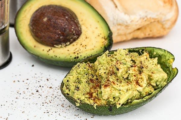 фото приготовленного авокадо