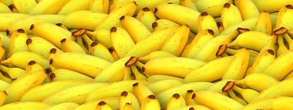 фото желтых бананов