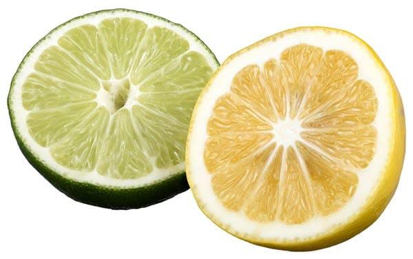 фото лайма и лимона