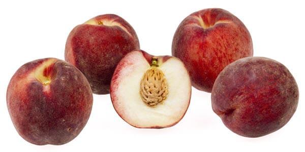 фото белого персика