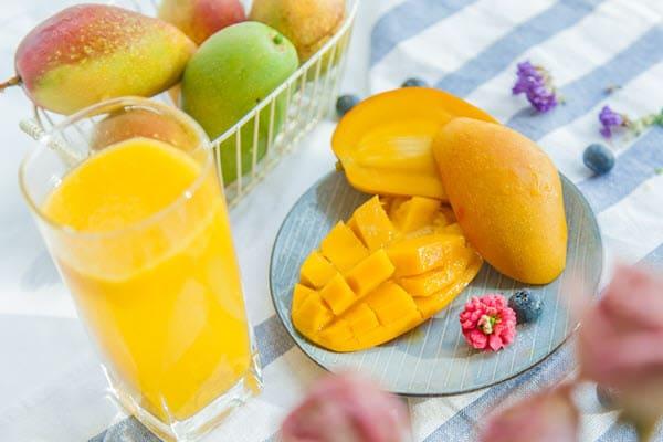 фото сок из вкусного манго