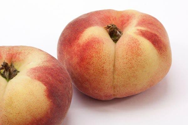 фото приплюснутого персика
