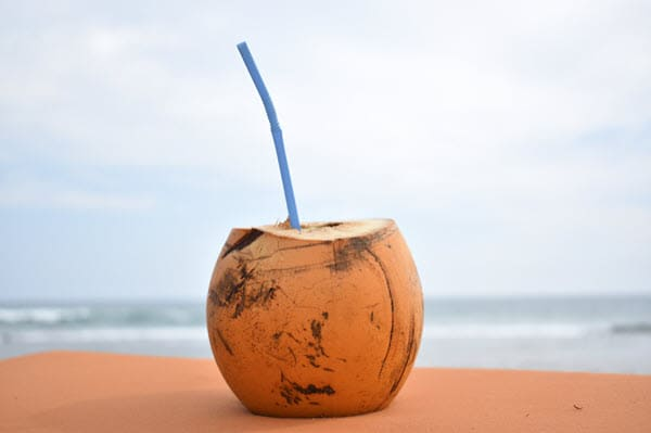фото кокоса на пляже