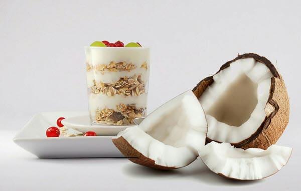 фото блюда с кокосом