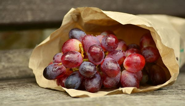 фото винограда в кульке