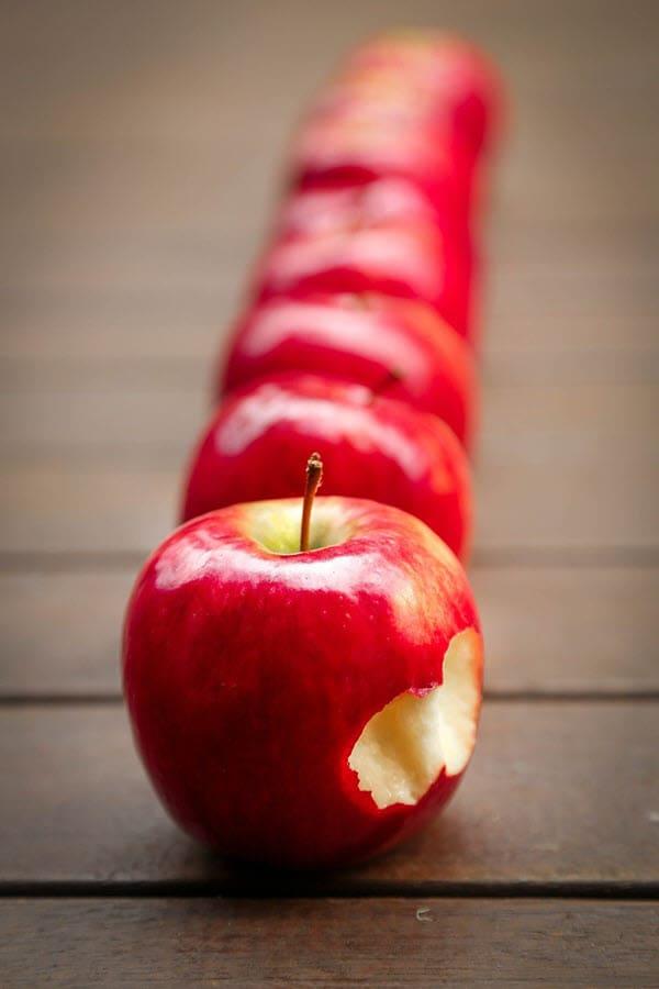 фото вкусного яблока