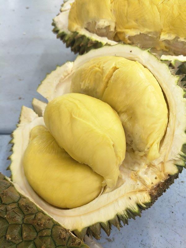 фото разрезанного дуриана