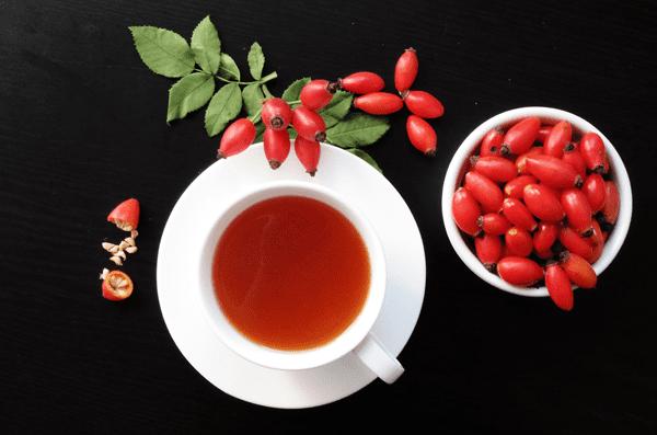 фото чая с шиповником