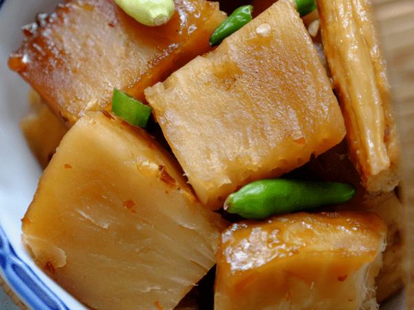 фото вегетарианского блюда их хлебного дерева