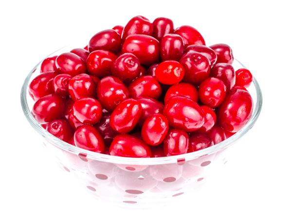 фото ягод кизила в миске